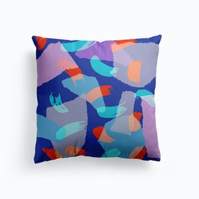Jazzy Blues Cushion