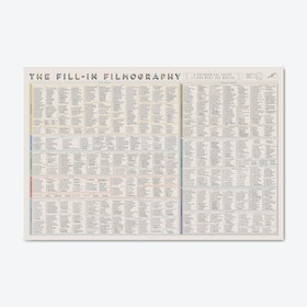 The Fill-In Filmography