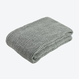 Pet Knitted Throw - Grey