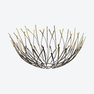 Wire Bowl - Pure Brass