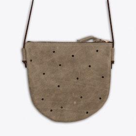 Oskar Shoulder Bag in Light Grey