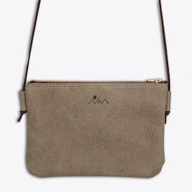 Lotta Shoulder Bag in Light Grey