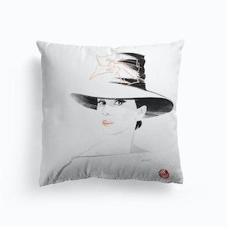 Audrey Hepburn 1  Cushion