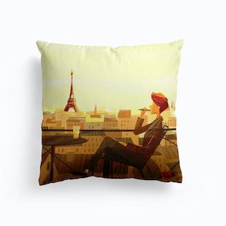 Life In Paris  Cushion