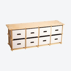 Fourbytwo (4x2) - Bench/Low Sideboard