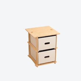 Onebytwo (1x2) - Stool/Sidetable