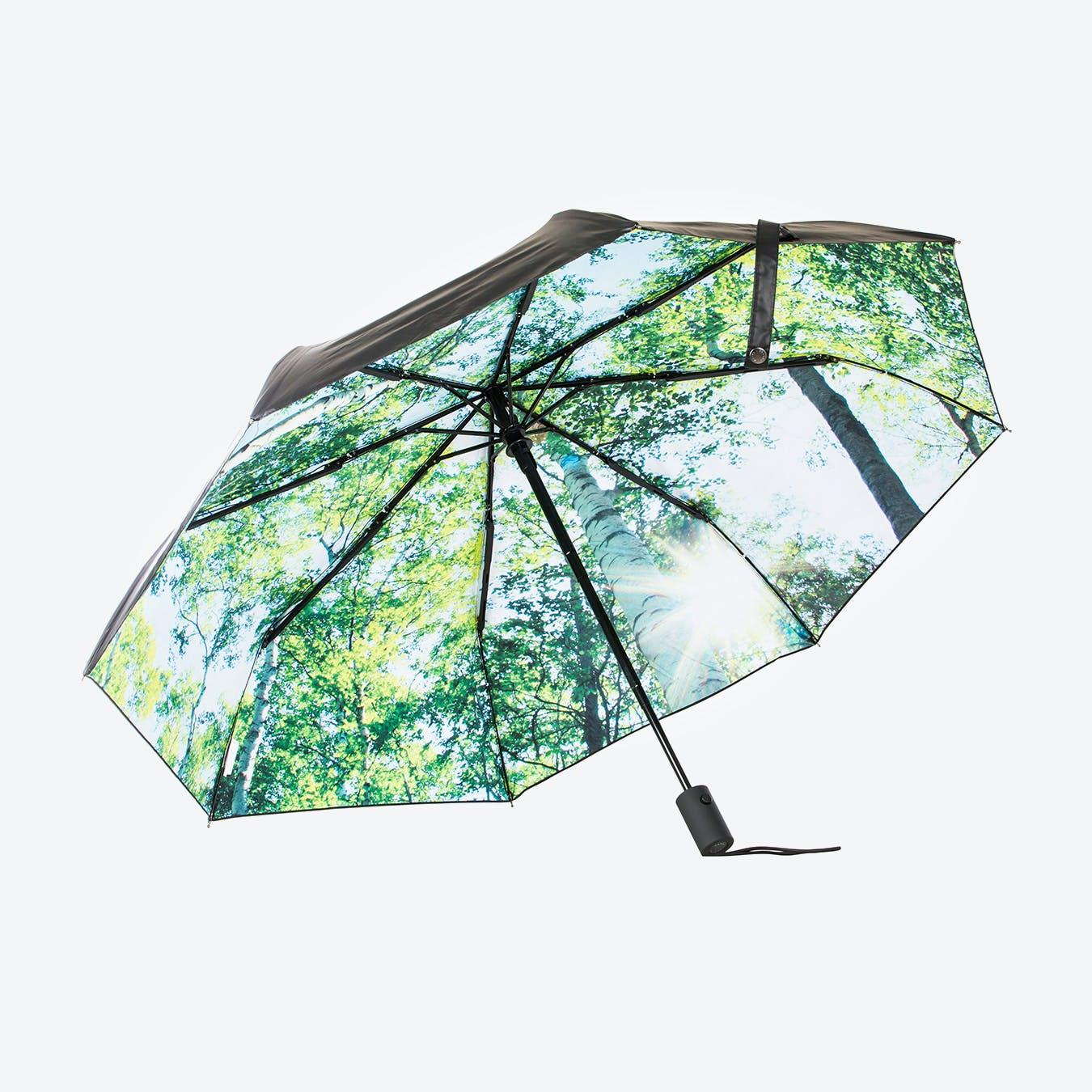 Forest Print Umbrella
