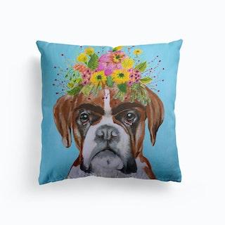Frida Kahlo Boxer Cushion
