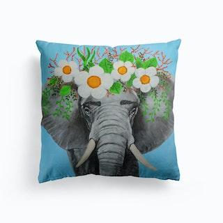 Frida Kahlo Elephant Cushion
