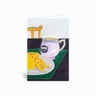 Tea Time Greetings Card