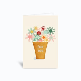 For you Greetings Card