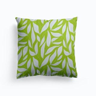 White Leaf Cushion
