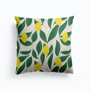 The Lemon Pattern Cushion