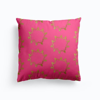 Golden Leaf Cushion
