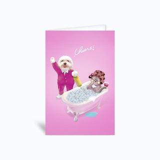 Cheers Greetings Card