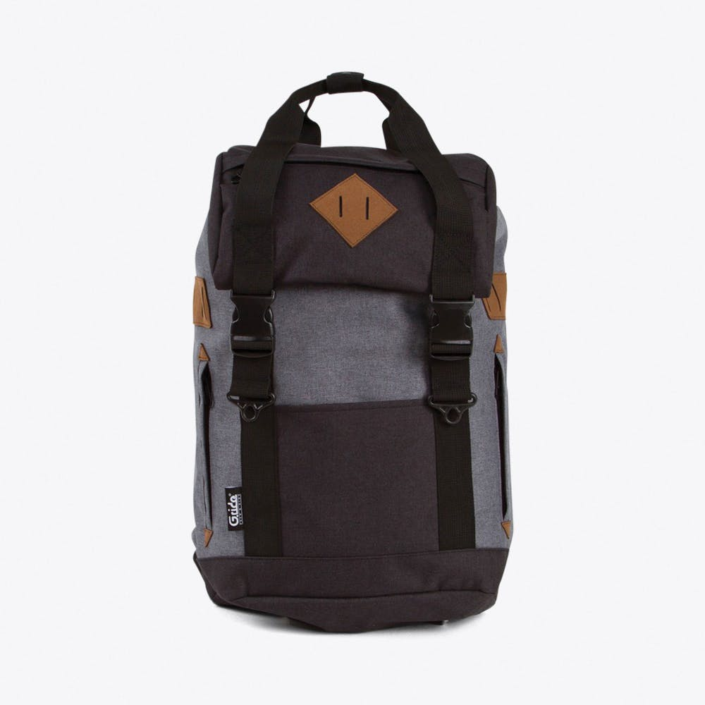 Arthur Backpack in Black & Grey
