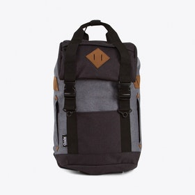Arthur Backpack in Black & Grey