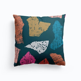 Textured Pieces Cushion