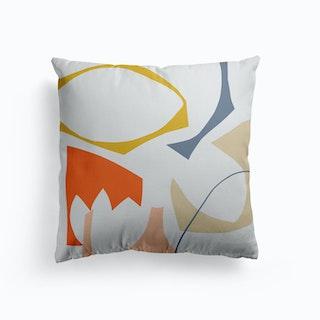 Collage Cuts Cushion