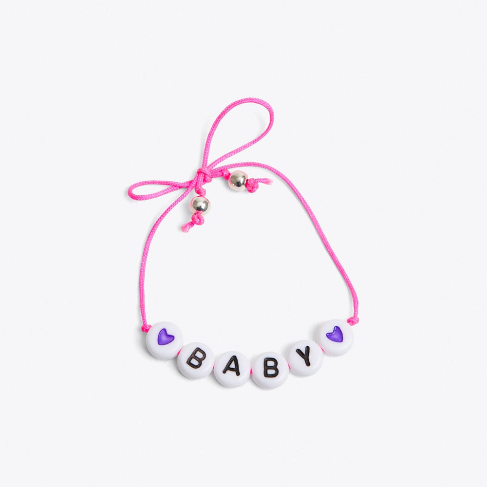 Baby Bracelet in Neon Pink