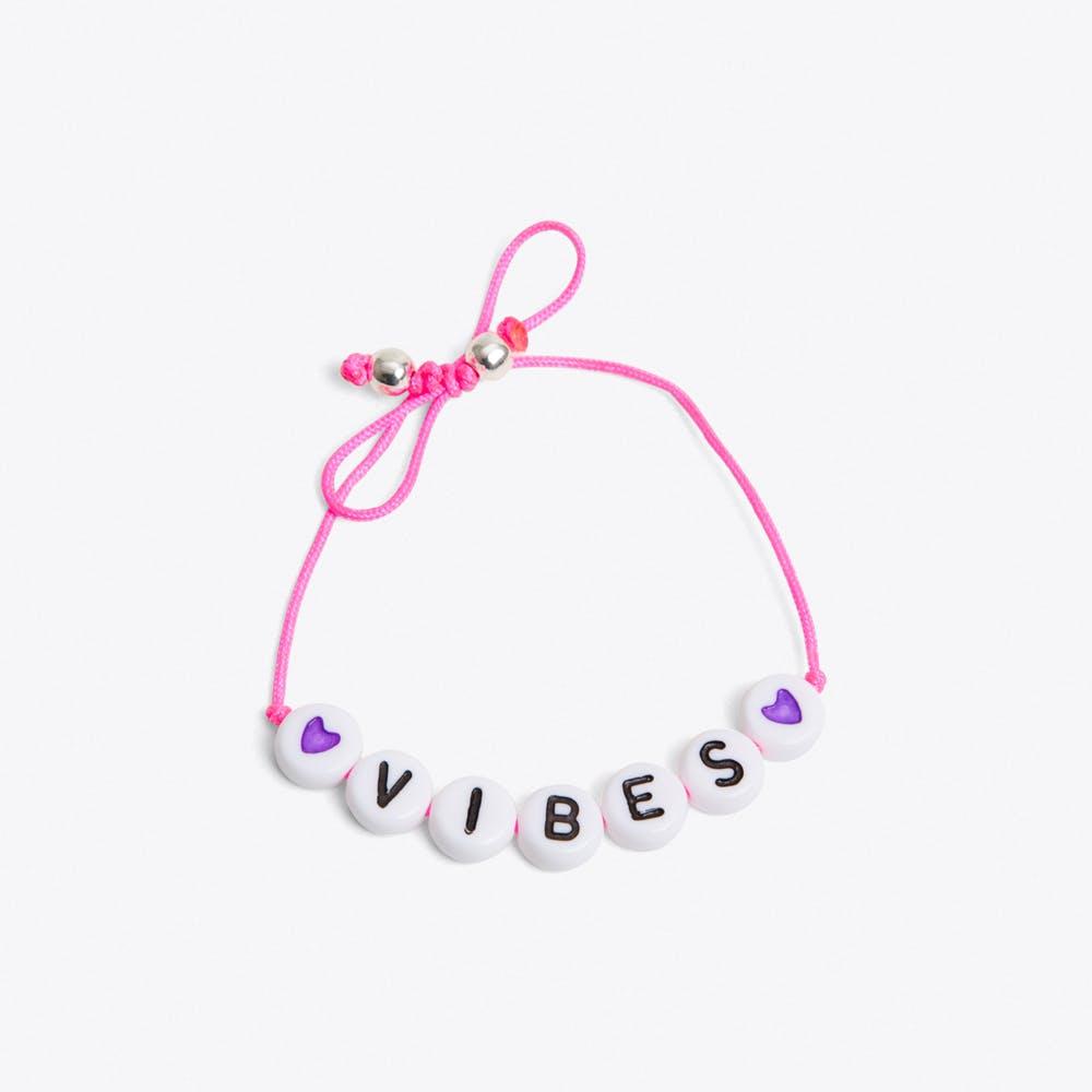 Vibes Bracelet in Neon Pink