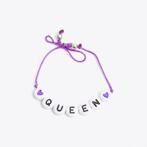Queen Bracelet in Purple