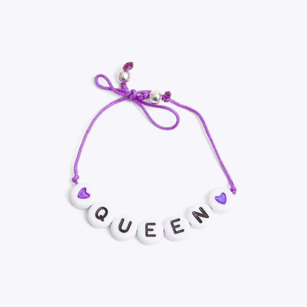 Queen Bracelet in Purple