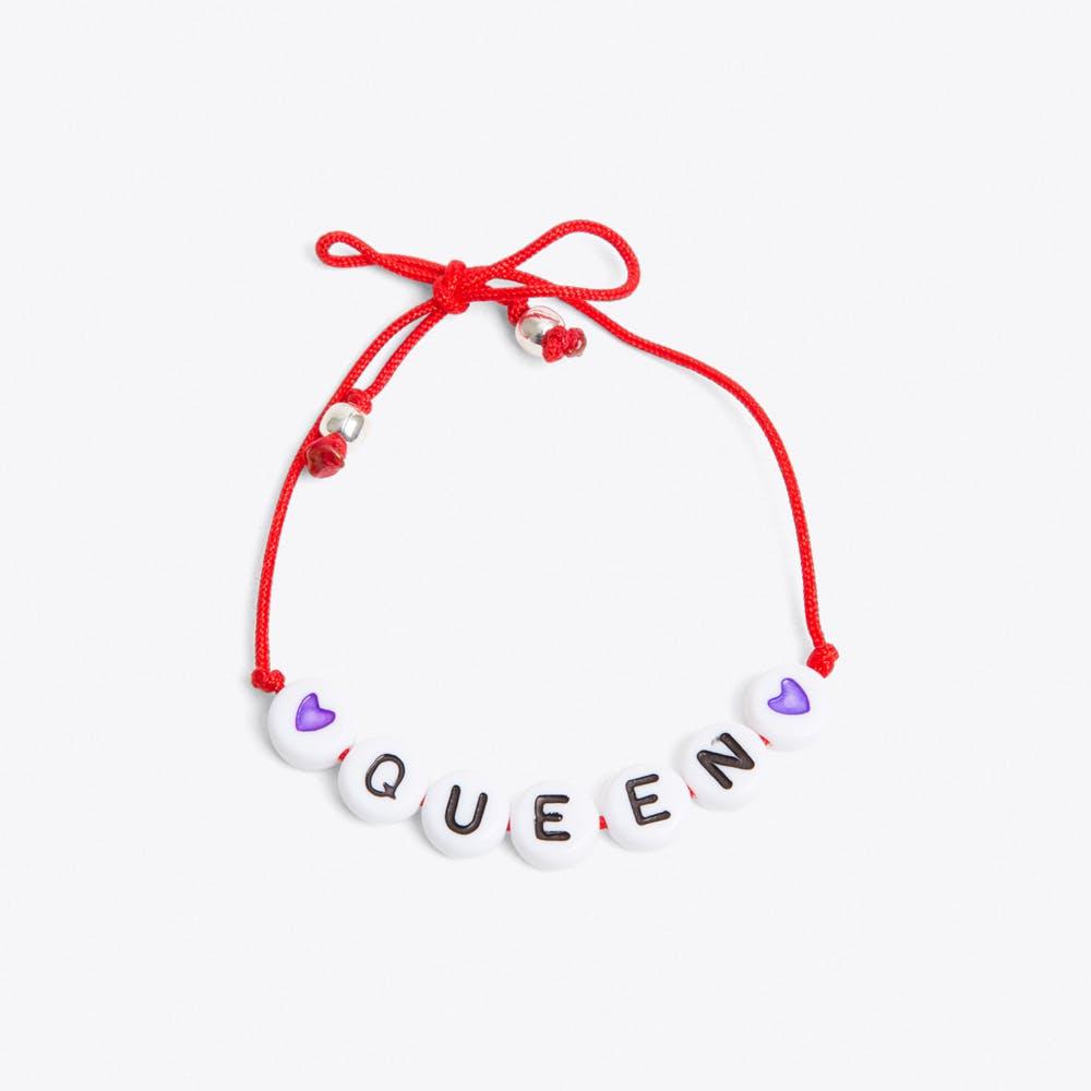 Queen Bracelet in Red