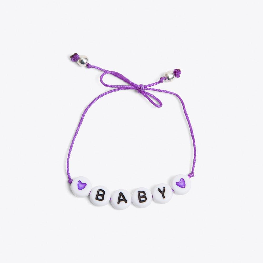 Baby Bracelet in Purple