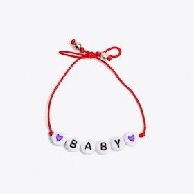 Baby Bracelet in Red