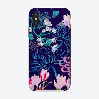 Midnight Florals Phone Case
