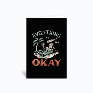 Okay Greetings Card