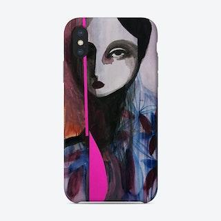 Neon Floral Phone Case