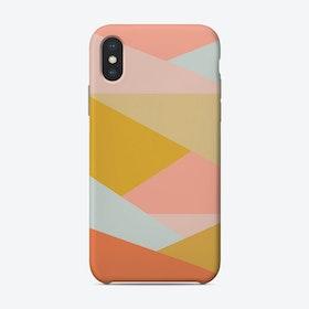 Earthytrianglecolorblock Phone Case