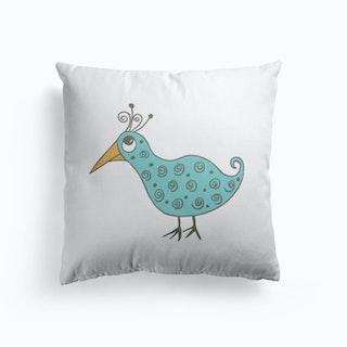Swirly Bird Cushion