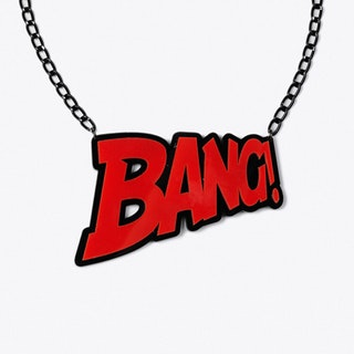 BANG! Necklace in Red