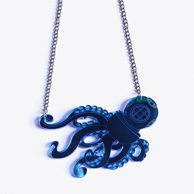 Octodiver Necklace