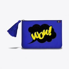 Poecilia Pouch in Blue