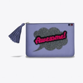 Poecilia Pouch in Purple