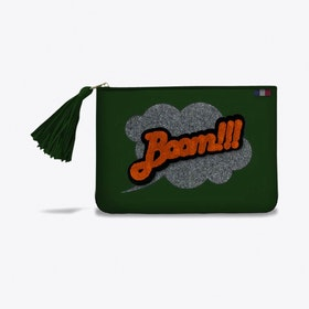 Poecilia Pouch in Green