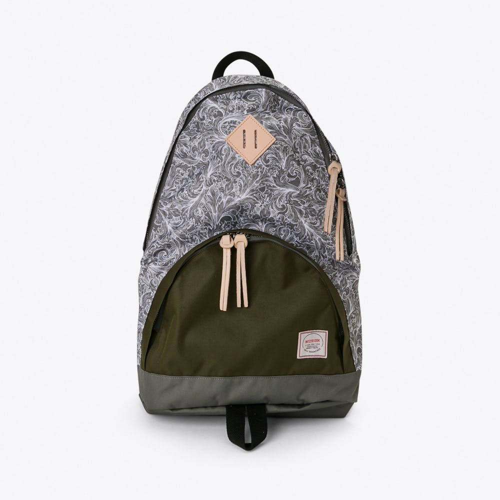 Brooksiinae Backpack in Grey Paisley