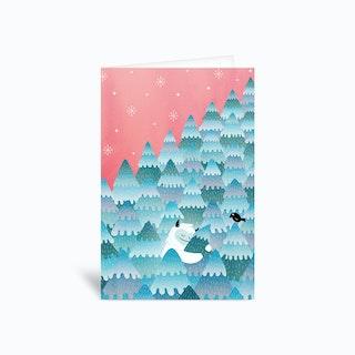 Tree Hugger Greetings Card