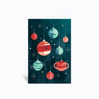 Joy To The Universe Greetings Card
