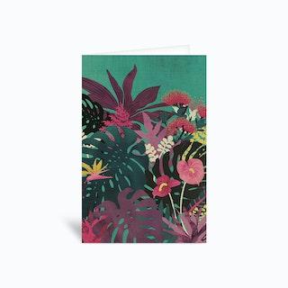 Tropical Tendencies Greetings Card