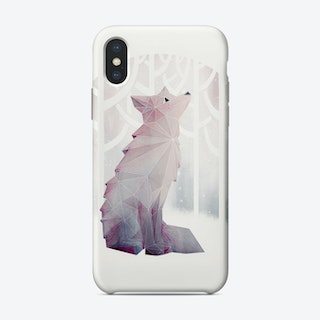 Fox In The Snow Phone Case