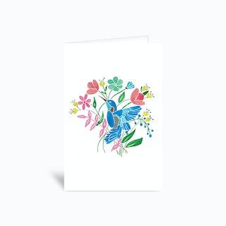 Hummingbird Greetings Card