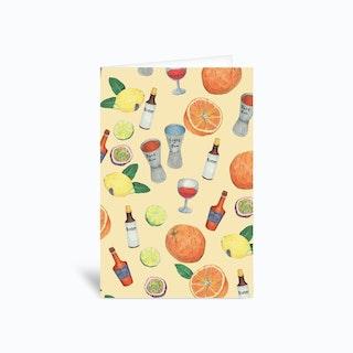 Cocktail Greetings Card