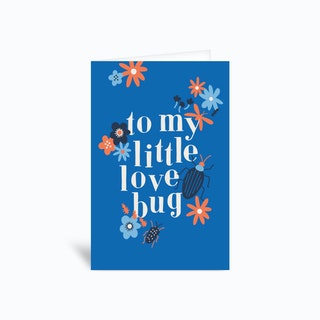 Love Bug Greetings Card
