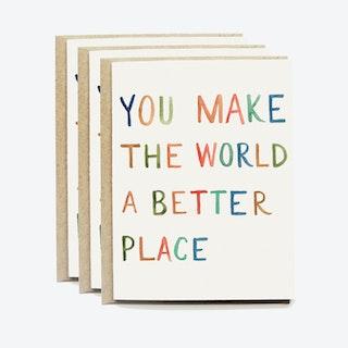 Better World Greeting Card Set