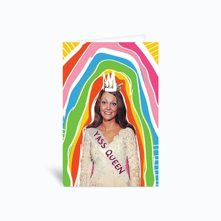 Yass Queen Greetings Card